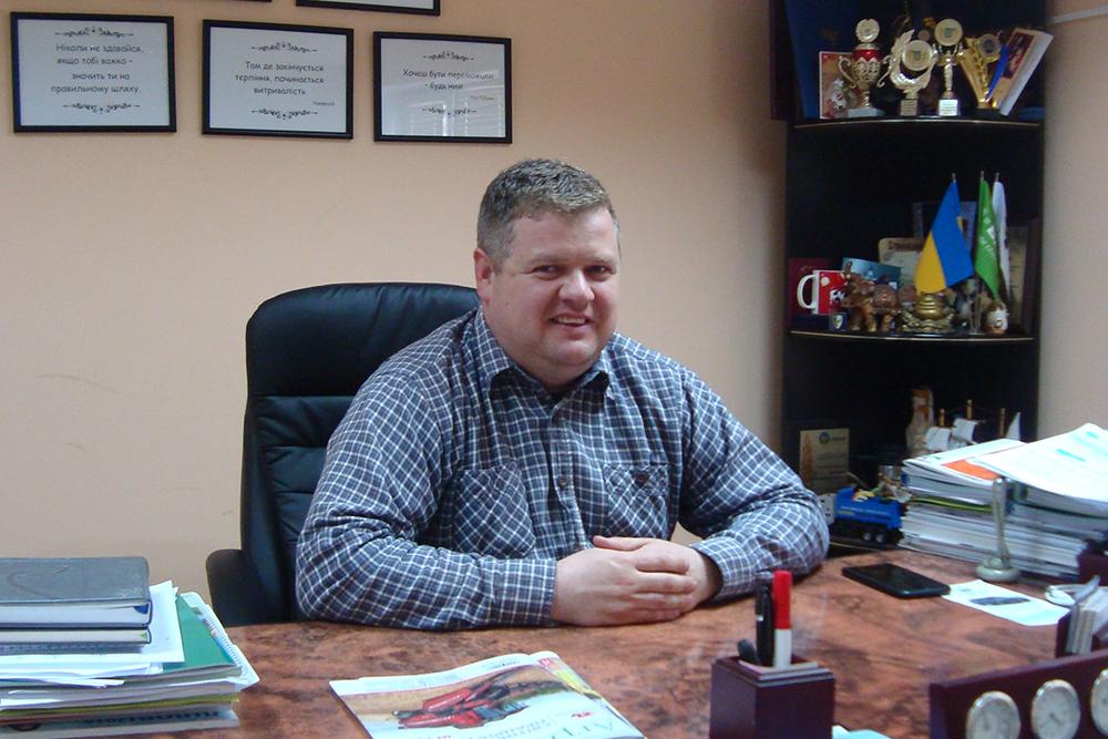Владимир Слободян, директор фермерского хозяйства «Ридна земля»