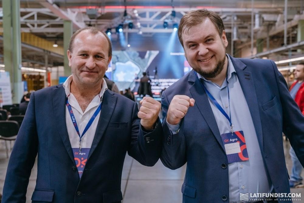 Михаил Сербин и Максим Елисеев
