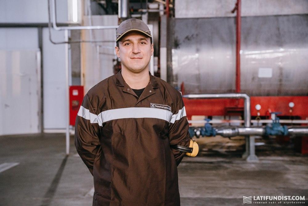 Евгений Ковалев, начальник цеха технических фабрикатов «Винницкой птицефабрики»