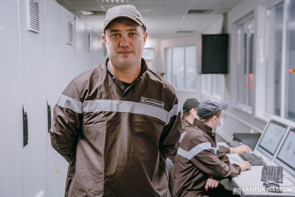 Андрей Крук, заместитель начальника цеха технических фабрикатов «Винницкой птицефабрики»