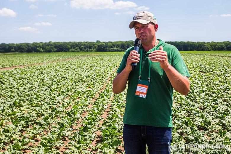Сергей Ковернега, ведущий эксперт по демонстрационным исследованиям Аграрного подразделения компании Bayer