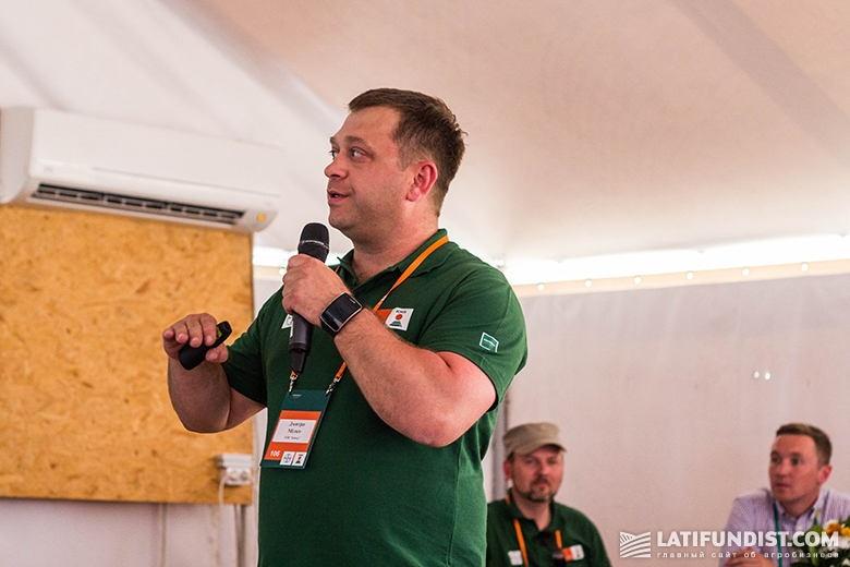 Дмитрий Милко рассказывает о достоинствах и недостатках нового гербицида КОНВІЗО¹
