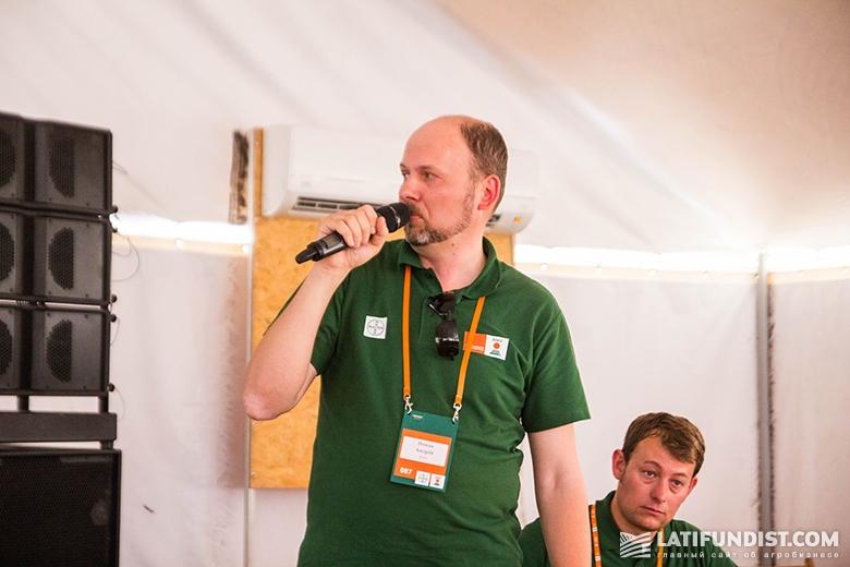 Андрей Новак, менеджер по маркетингу и агросервису «КВС-УКРАИНА»