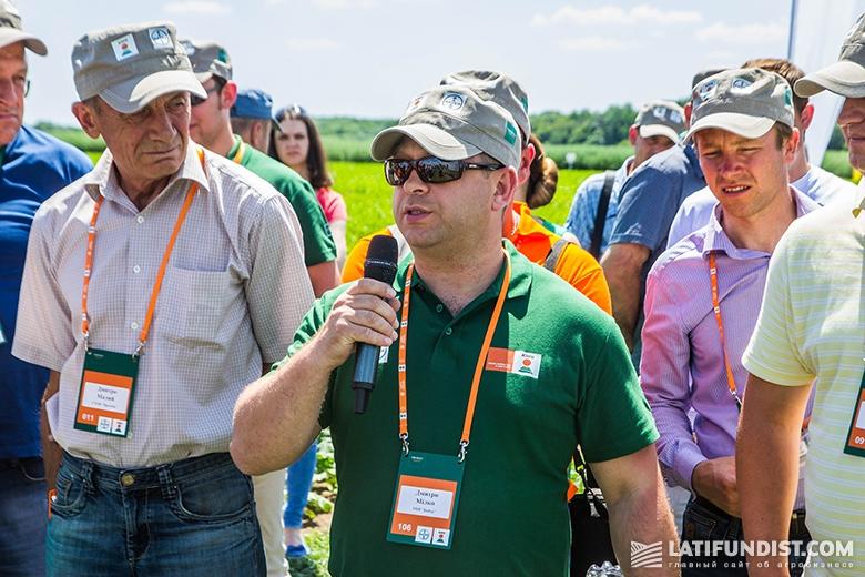 Дмитрий Милко, маркетинг-менеджер Аграрного подразделения компании Bayer