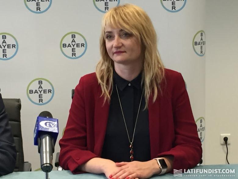 Лидия Озерова, генеральный директор «Монсанто-Украина»