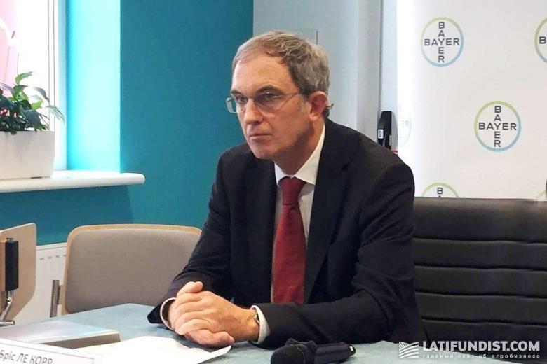 Брис ле Корр, директор по производству и поставкам региона ЕМЕА компании Bayer