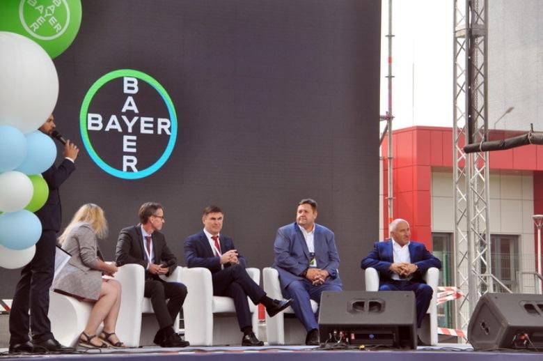 Церемония открытия семенного завода Bayer