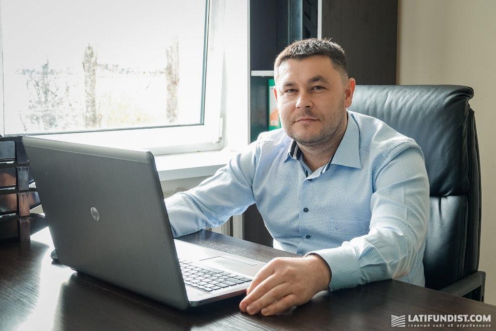 Владимир Бортняк, заместитель начальника центра точного земледелия Корпорации «Сварог Вест Груп»