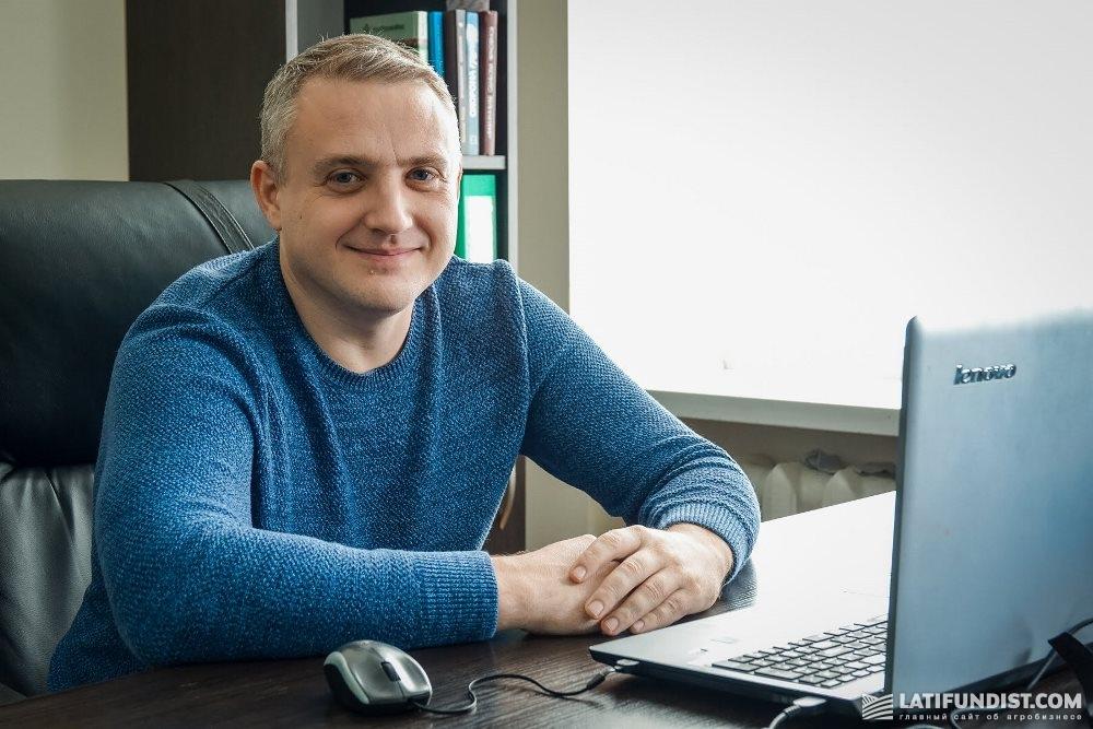 Сергей Галушка, агрохимик центра точного земледелия Корпорации «Сварог Вест Груп»