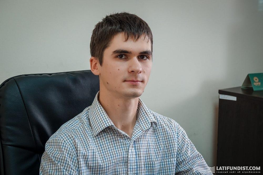 Николай Визнюк, специалист по ГИС