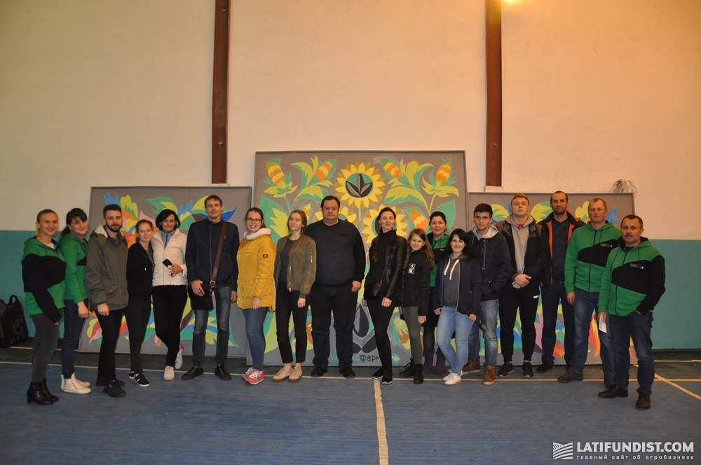 Участники пресс-тура Ukrlandfarming