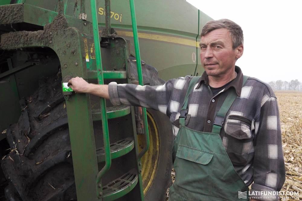 Александр Васильченко, водитель Гадячской колонны №1