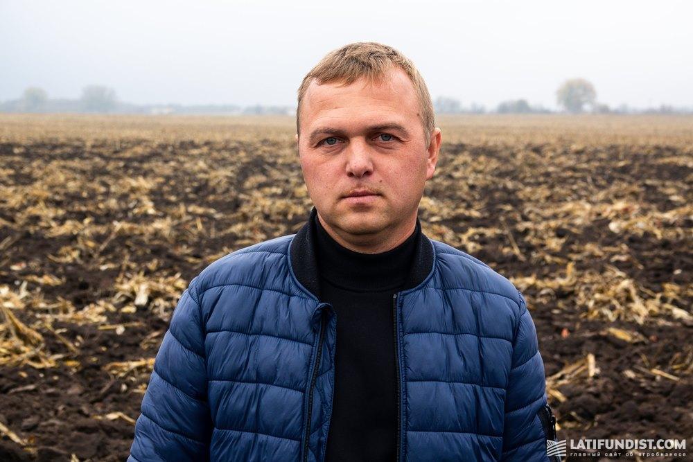 Ярослав Симинько, ведущий агроном Гадячского отделения «Агро-Край»