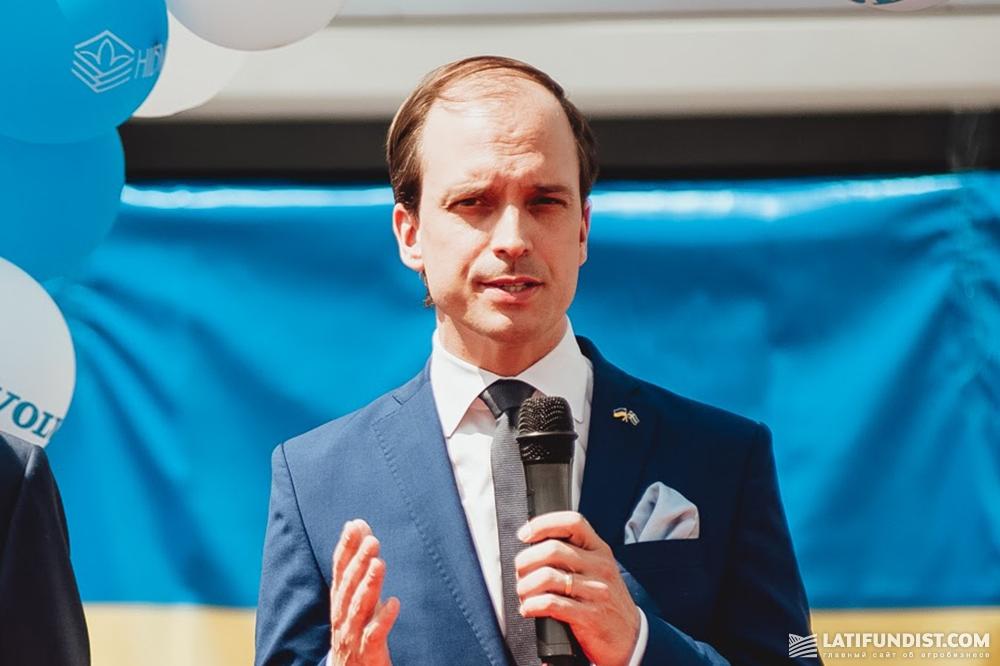 Генрик Нурберг, заместитель Главы Миссии, Советник Посольства Швеции в Украине