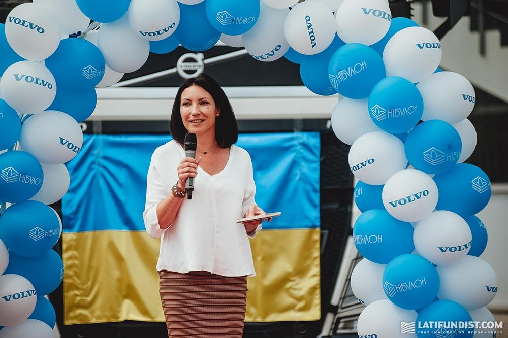 Инна Смола, коммерческий директор «Вольво Украина»