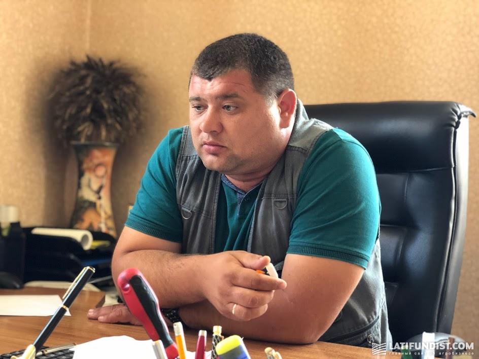Александр Кролицкий, директор филиала «Хмельник» компании «НИБУЛОН»