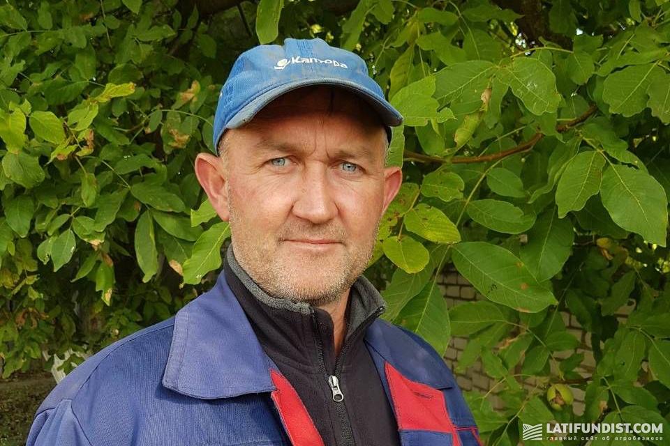 Андрей Щедринов, владелец хозяйства «Теллус-Юг»