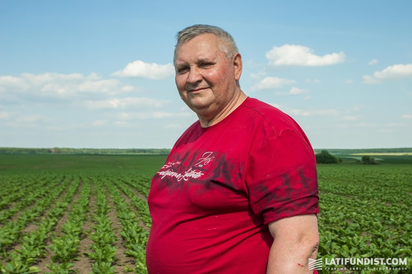 Николай Кошиль, директор агрофирмы «Камаз-Агро»