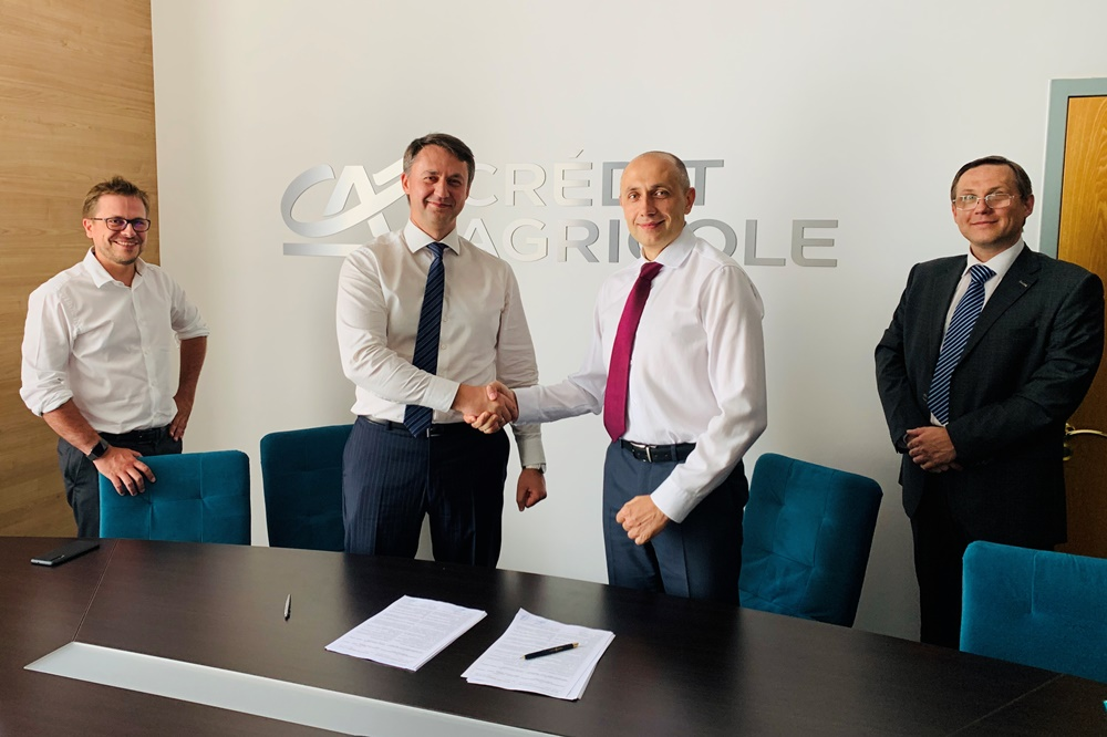 Credit Agricole Bank signing a partnership agreement with Winner Leasing