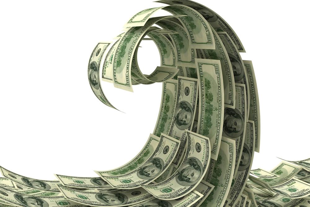 Чистый денежный поток от операционной деятельности был положительным и увеличился на 29% и достиг значения $6,2 млн