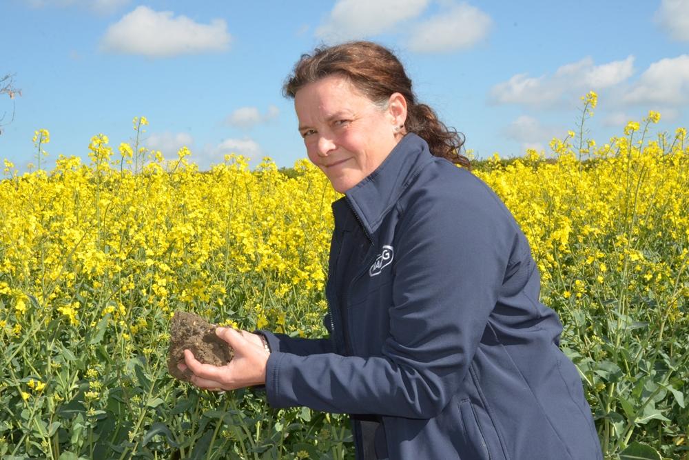 Д-р Элизабет Стокдейл, руководитель отдела исследований фермерских систем NIAB, Хангтингтон-роуд, Кембридж