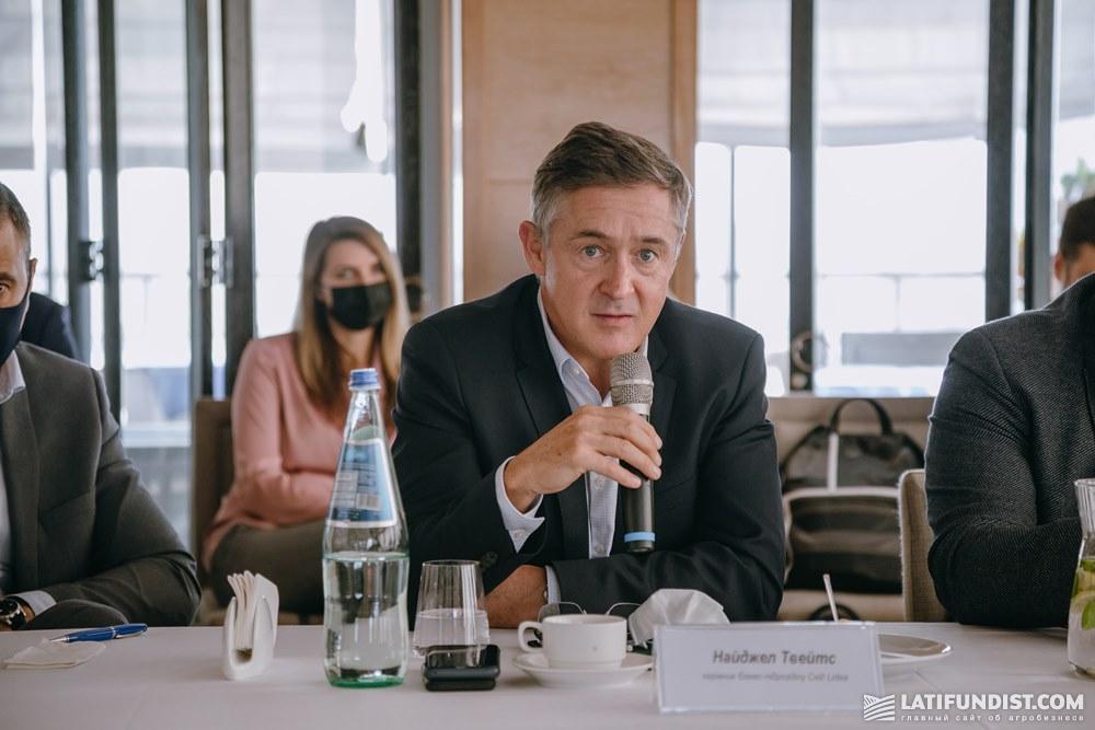 Найджел Твейтс, генеральный директор «Евралис Семенс»