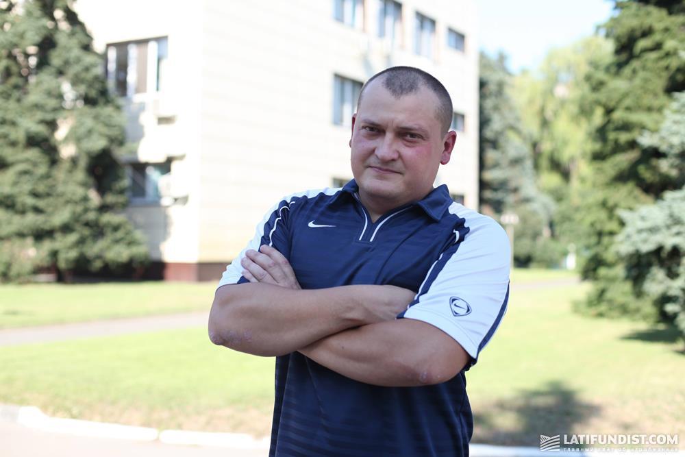 Олег Мединский, обработчик птицы на предприятии «Орель-Лидер»