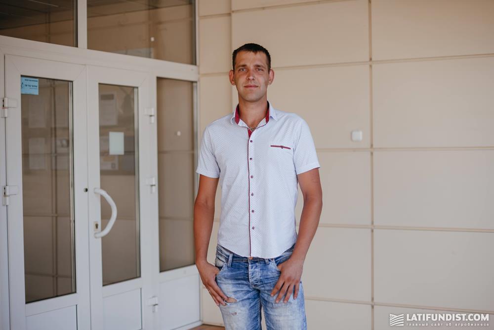 Владислав Гайдай, грузчик на предприятии «Орель-Лидер»