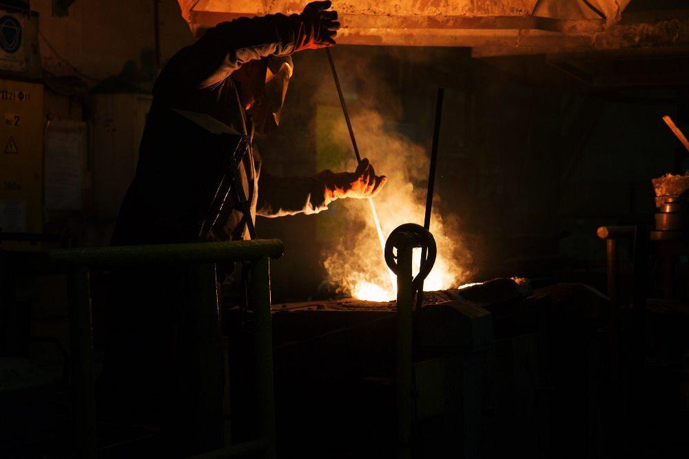 В Чехии я работал на литье метала
