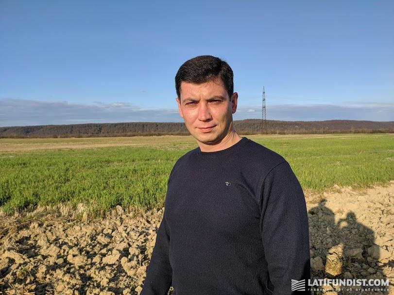 Андрей Омельченко, представитель «Аgrilink Украина»