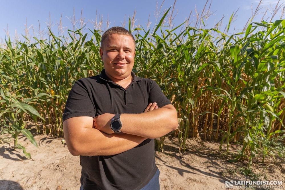 Ярослав Каспрук, главный агроном Черниговского кластера «Калипсо»