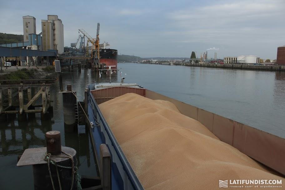 Участники рынка говорят о снижении объемов вывоза зерна в порт
