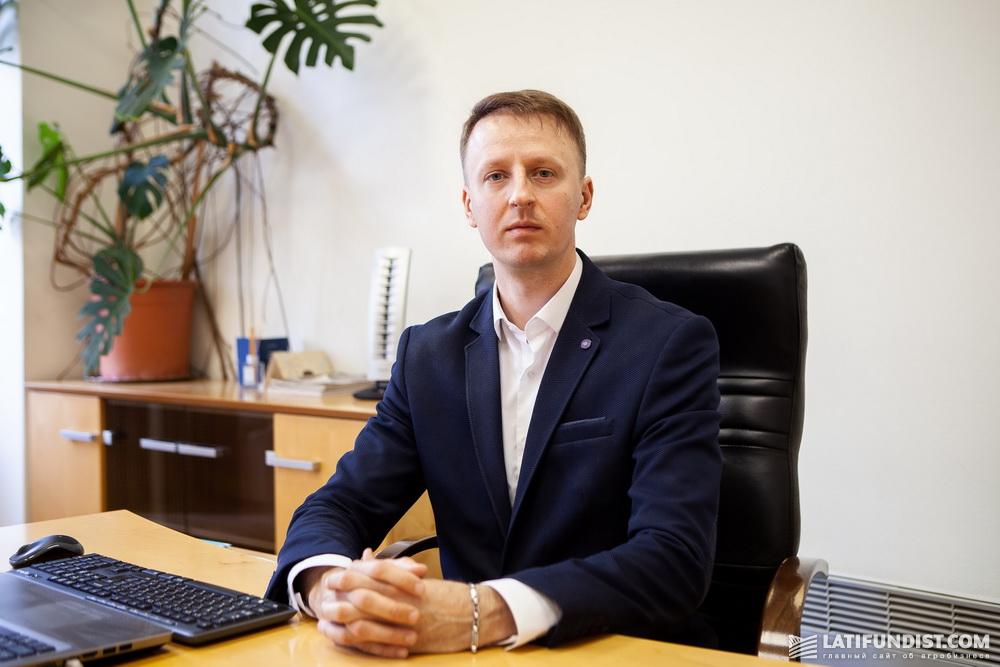 Валерий Андриянов, директор предприятия «Столичный млин»