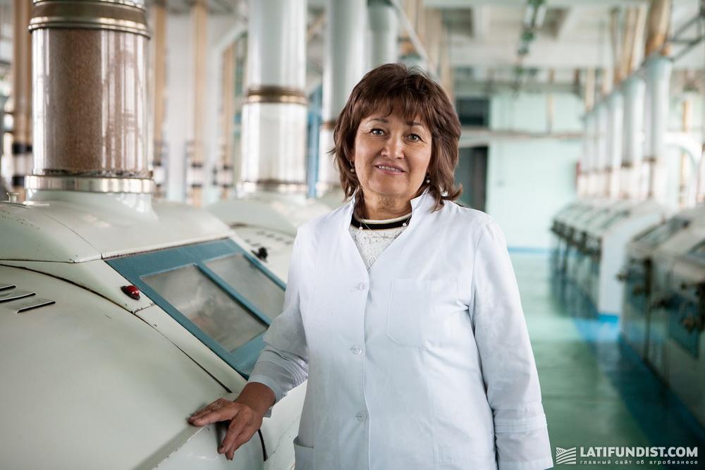Надежда Бачал, заместитель директора по вопросам качества компании «Столичный Млин»