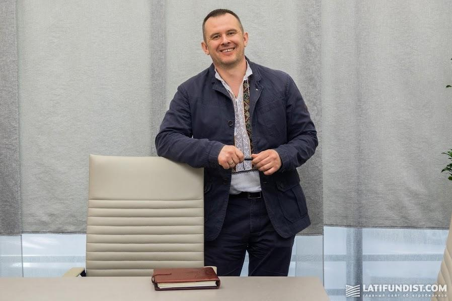 Михаил Травецкий, руководитель службы животноводства компании «Кернел»
