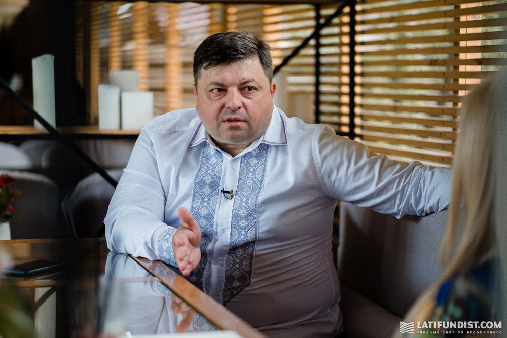 Иван Мирошниченко: «Я в полях с детства. Мой отец — аграрий»