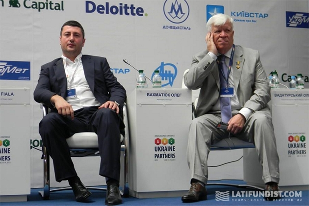Алексей Вадатурский и Олег Бахматюк