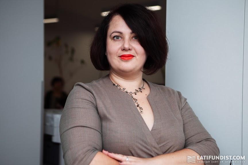 Елена Гиль, заместитель директора департамента микро-, малого и среднего бизнеса «Ощадбанка»