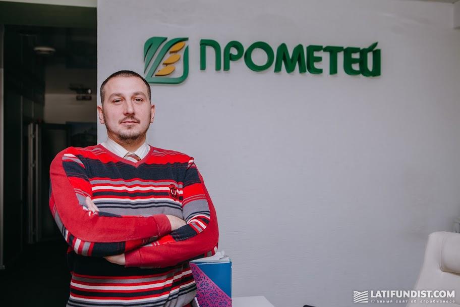Илья Троицкий, агроном-консультант по семенам и СЗР ГК «Прометей»