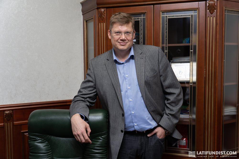 Сергей Назарчук, соучредитель и совладелец агрофирмы «СиНа»