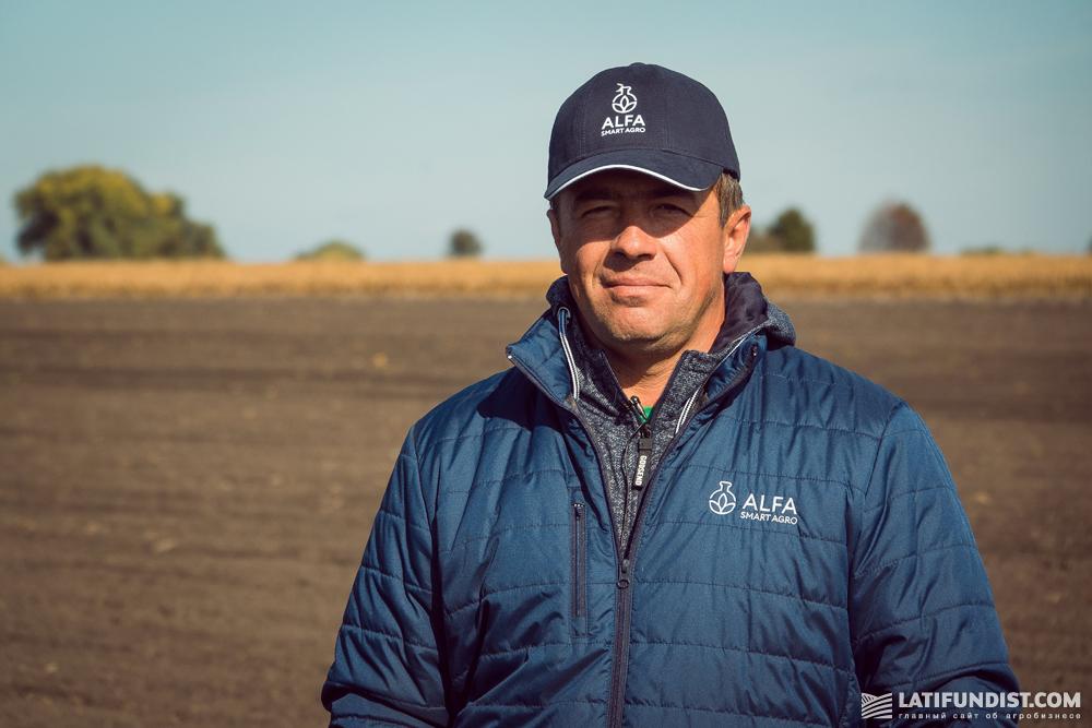 Олег Доброштан, менеджер полевых исследований ALFA Smart Agro