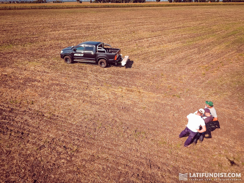 20 августа — сканирование грунта на Smart Field