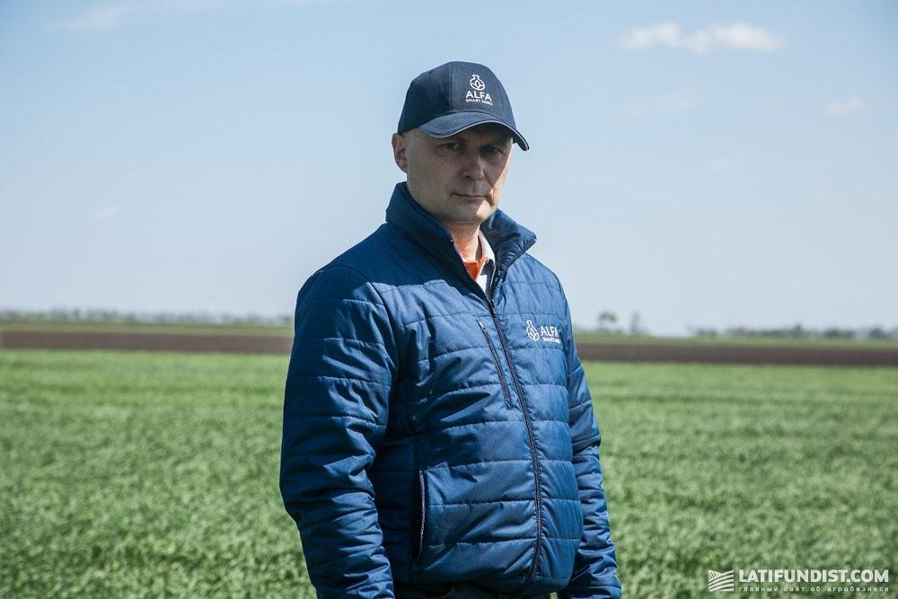 Валерий Литвиненко, продакт-менеджер ALFA Smart Agro