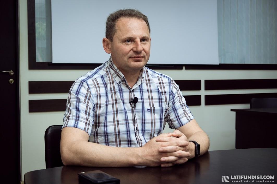 Евгений Марцинко, главный агроном агрохолдинга «Захидный Буг»