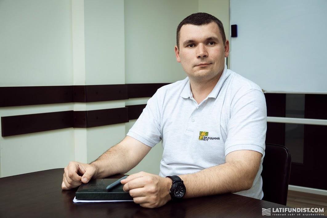 Василий Косар, агроном-почвовед агрохолдинга «Захидный Буг»