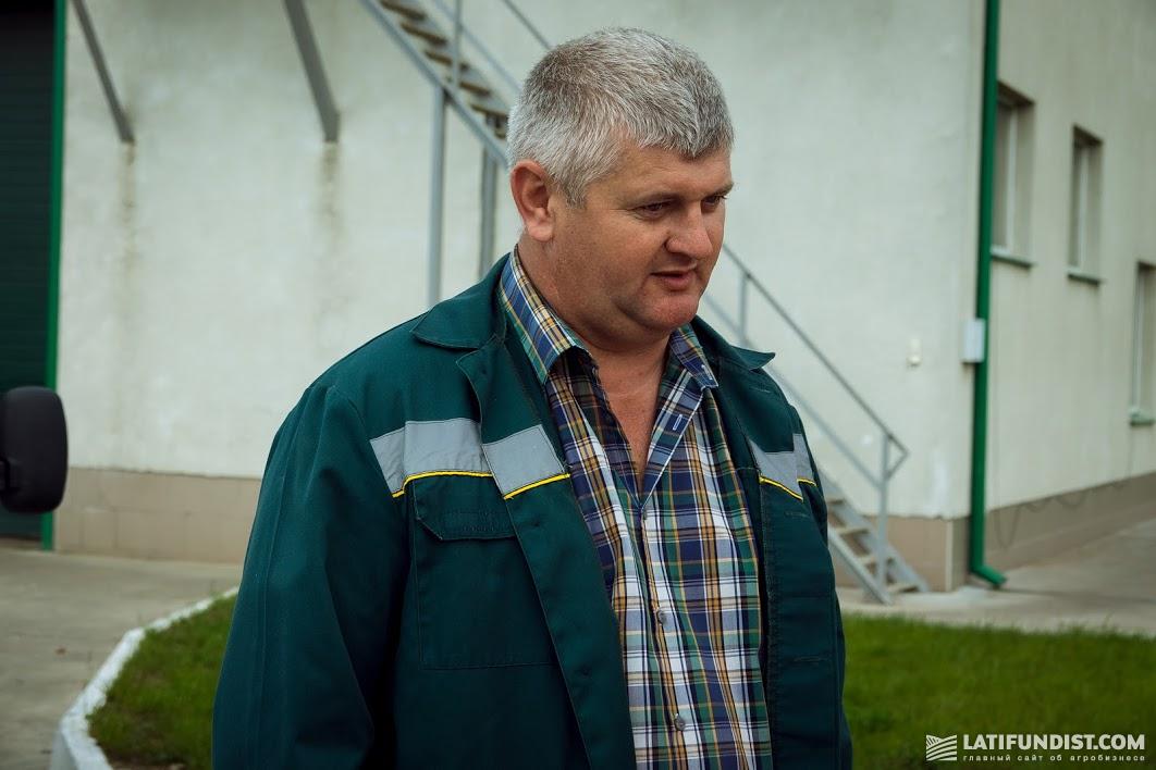 Петр Вильховый, старший агроном Сокальського подразделения агрохолдинга «Захидный Буг»