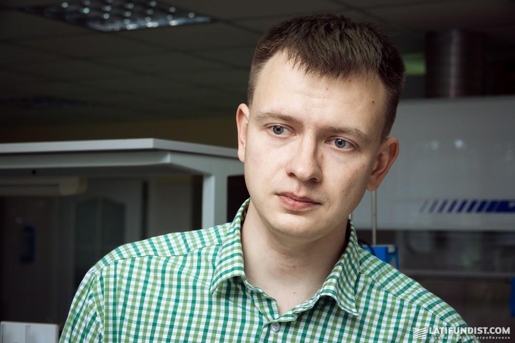 Дмитрий Костарев, старший агроном-аналитик агрохолдинга