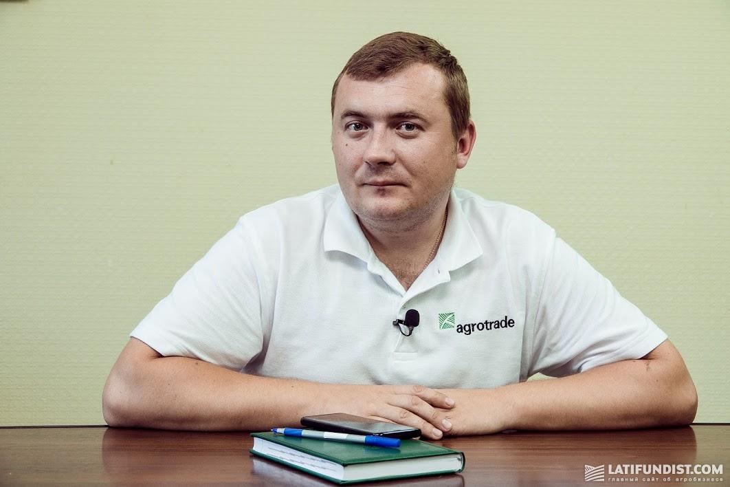 Александр Филатов, старший инженер систем GPS группы «АГРОТРЕЙД»