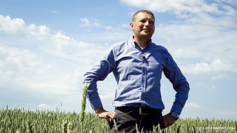 Сергей Костенко, старший агроном и и. о. директора компании «Колос»