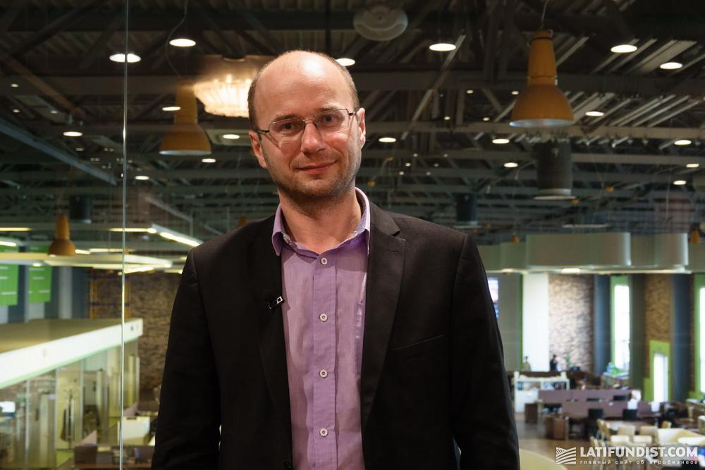Владимир Бабий, руководитель департамента внедрения инноваций Ukrlandfarming